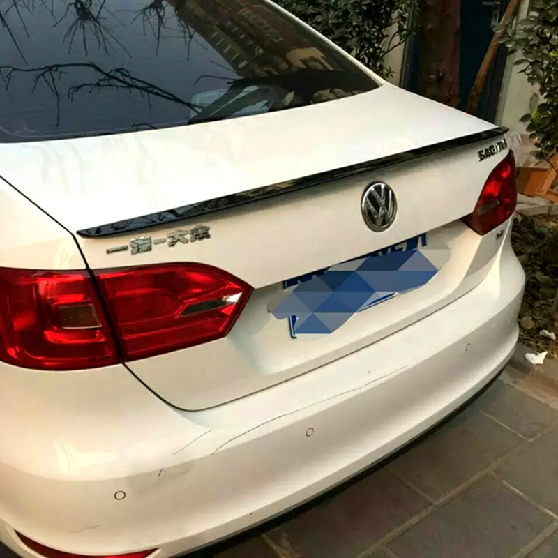 For VolkswagenJetta 2013 2014 2015 2016 2017 2018 rear trunk Spoiler ABS car tail wing decoration(China)