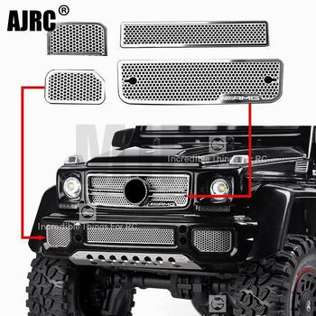 цена на Stainless Steel Mesh Grille Intake Grille Cover for 1/10 TRAXXAS TRX-6 88096-4 TRX-6 G63 TRX-4 G500 RC Crawler Car Accessories