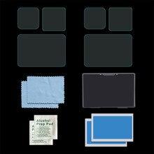 Protetor de tela para gopro hero 9 proteção de filme preto acessórios 9h lente + para trás + frente vidro temperado ação câmera hero9 preto