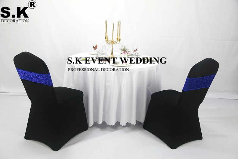 GLITTER SEQUIN CHAIR BANDS// TABLE RUNNER// BACKDROP EVENTS WEDDING DECOR DINNER