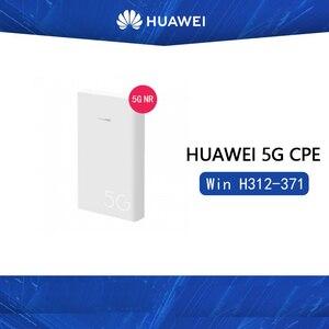 Huawei 5G CPE wygraj H312-371 obsługa gniazda kart sim NSA SA tryby sieciowe huawei 5G modem WIFI Router