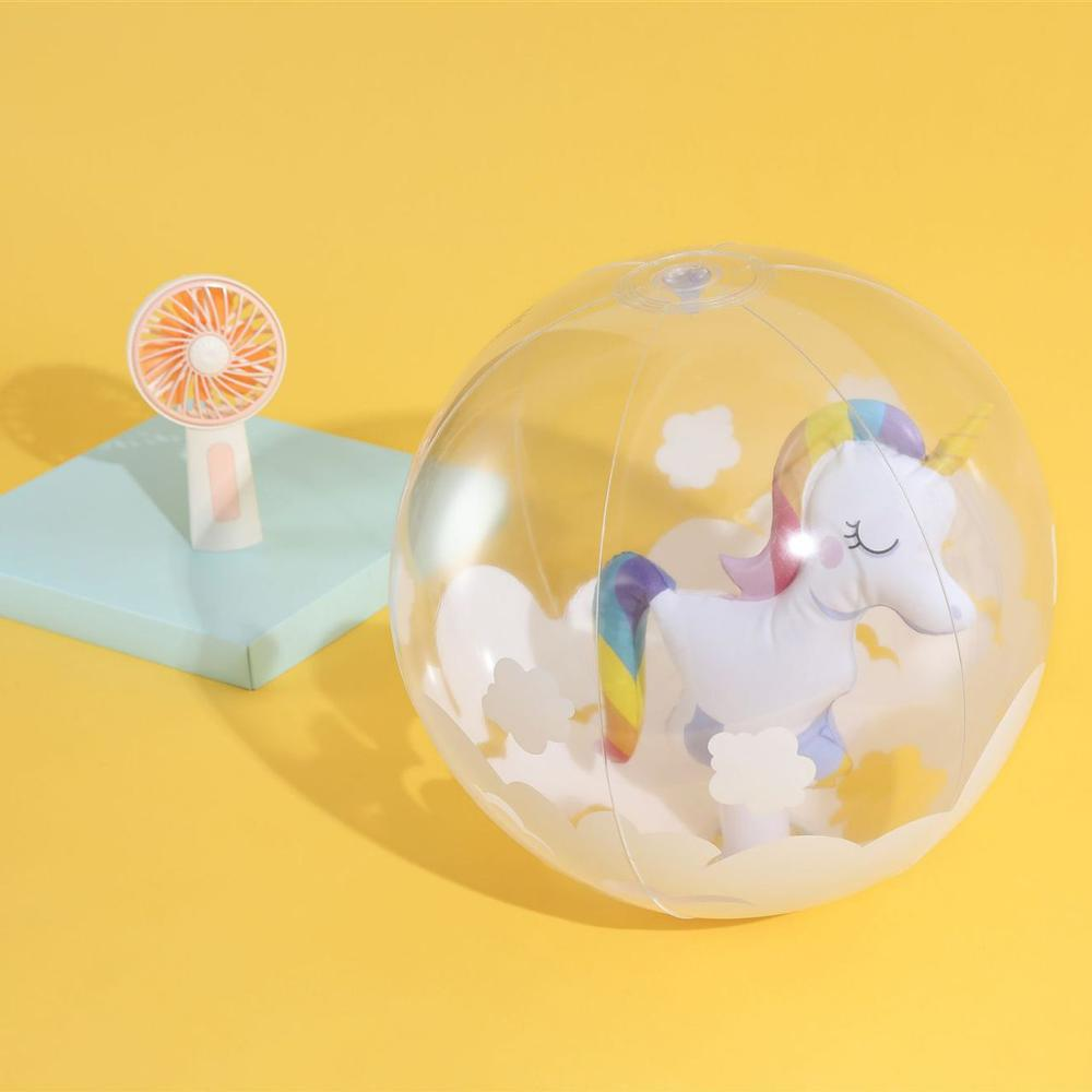 YUYU Inflatable Swimming Pool Balls Flamingo Pool Float Unicorn Baby Swimming Pool Floats Baby Pool Toys Bathing Pool Ball