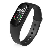 2019 New M4 Smart Bracelet Heart Rate Blood Pressure Health Waterproof Smart Watch Pro Bluetooth Watch Wristband Fitness Tracker(China)