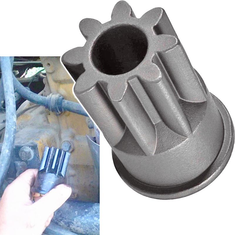 Engine Barring Socket Wrench For Caterpillar 3200/3406 Series & Mack E-7, E7 ETEC, Similar To J-38587-A