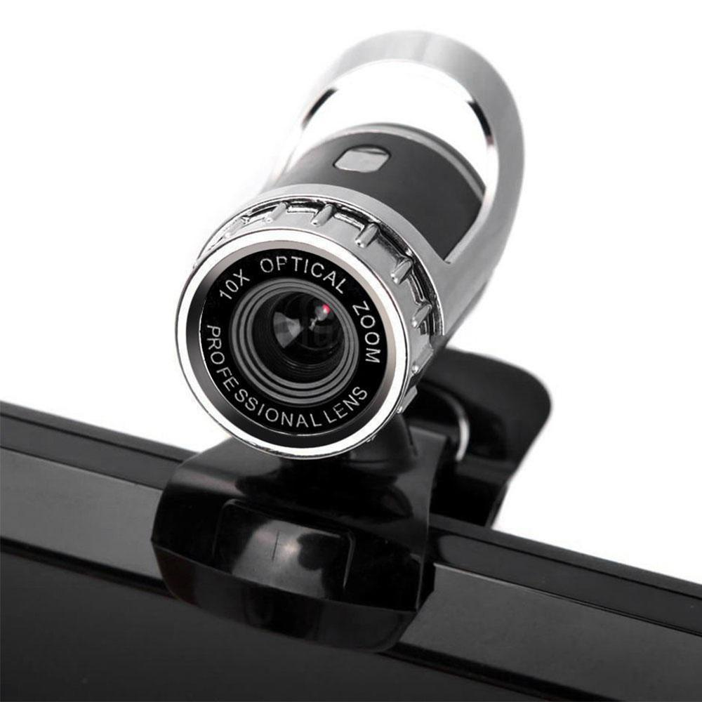USB Web Cam Webcam HD 120 Megapixel PC Camera With Absorption Microphone MIC For Skype For Android TV Rotatable Computer Camera