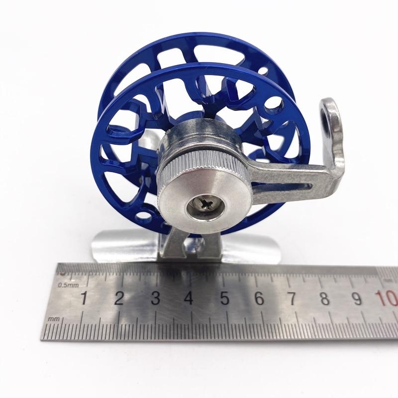 metal ultraleve antigo gelo carpa roda alimentador