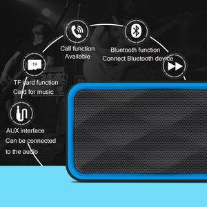 Image 4 - Loa Không Dây Bluetooth 5.0 Đèn LED Cổng USB Thẻ TF Phát Lại Đôi Sừng Loa Siêu Trầm TWS Không Dây AUX Đầu Vào Cột