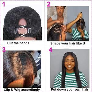 Image 5 - Кудрявый прямой парик 13х1, человеческие волосы спереди, парики для женщин, предварительно отобранные с волосами ребенка, бразильские Реми, итальянский парик яки