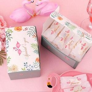 Image 5 - Boîte demballage haut de gamme pour bonbons, licorne pour ananas, fourre tout créatif, coffret demballage pour gâteaux, Nougat de mariage