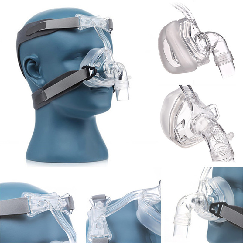 NM2 CPAP Nasal Mask with Headgear and Head Suitable For CPAP Machine and Oxygenator 7