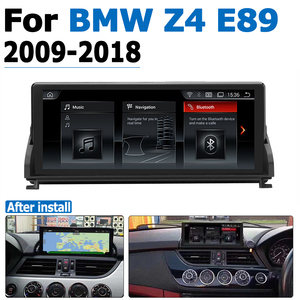 Image 1 - Car Radio DVD Player For BMW Z4 E89 2009~2018 CIC Android 8.0 up Autoradio GPS Navigation HD Touch Screen