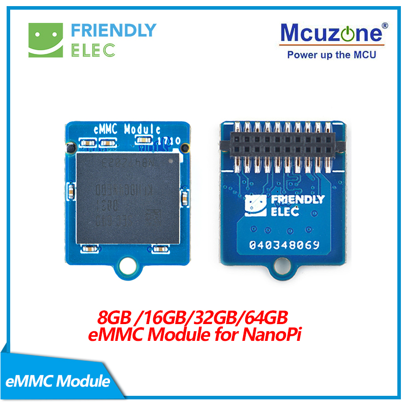8GB eMMC 5.1 Module for NanoPi    emmc-microSD adapter