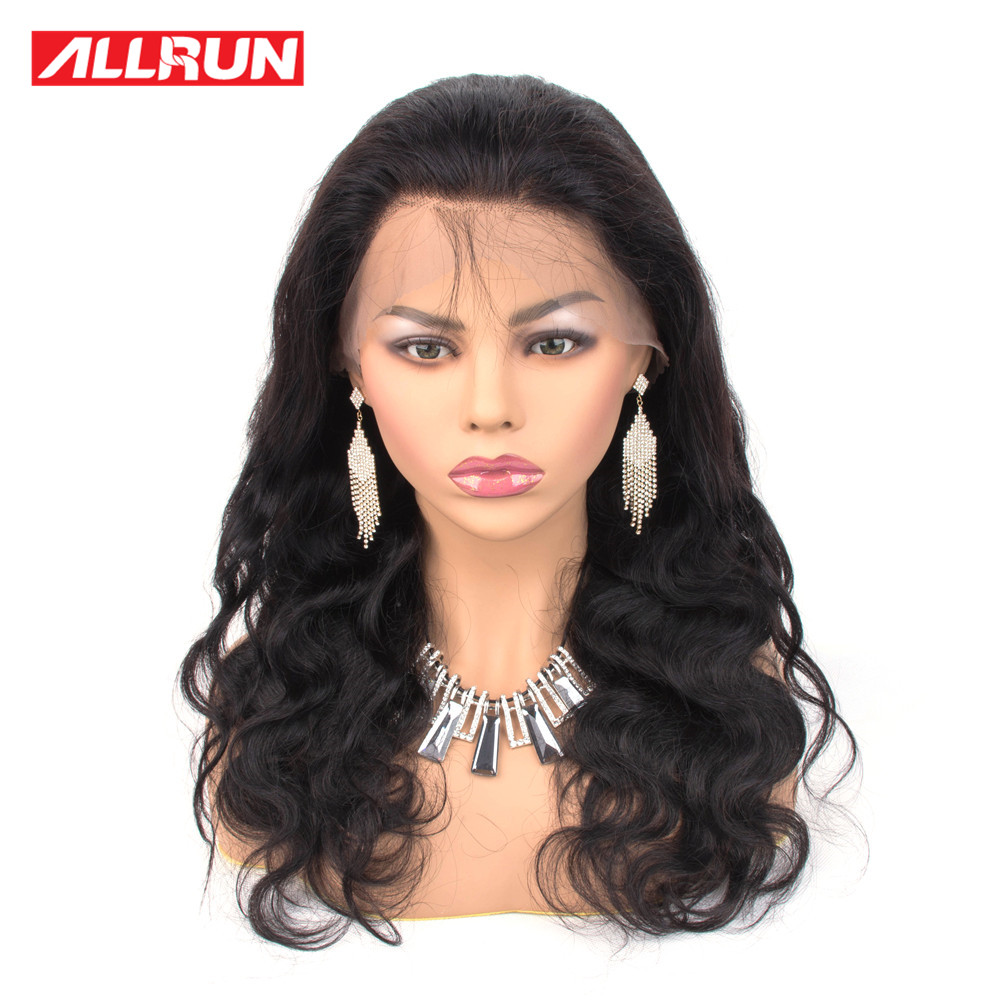 360 Lace Frontal Wig Pre Plucked With Baby Hair Brazilian Body Wave Wigs Lace Front Human Hair Wigs Pre Plucked Remy Hair