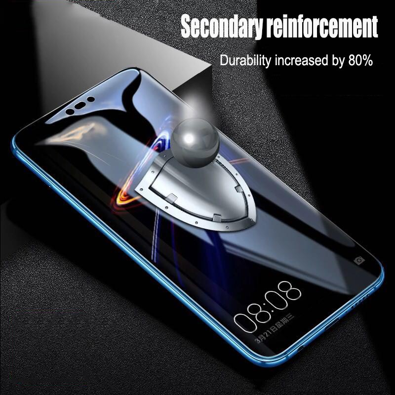 Image 3 - 2pcs/lot Full Screen Tempered Glass For Huawei Nova 3 Anti Blu ray Full Coverage Glass Protective film For Huawei Nova 3i glass-in Phone Screen Protectors from Cellphones & Telecommunications on