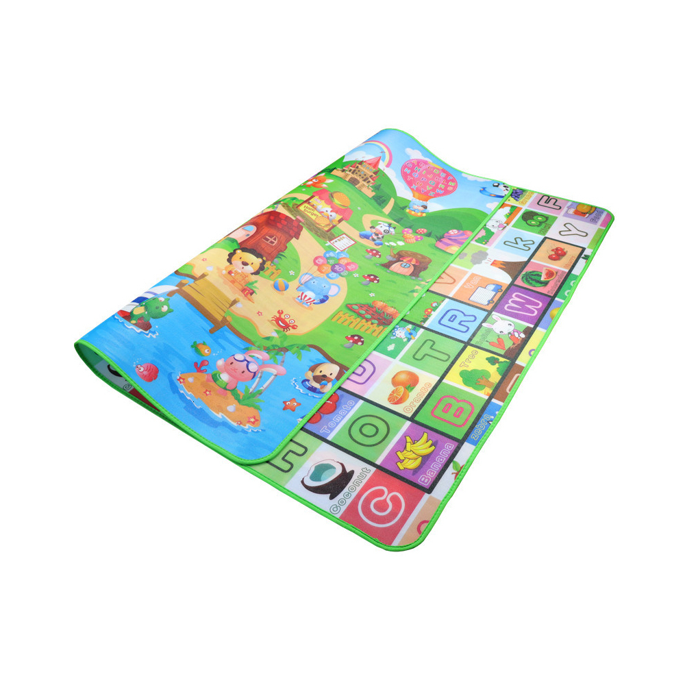 0.5cm Baby Play Mat Developing Mat Eva Foam Baby Play Mat Double Surface Foldable Puzzle Activity Gym Carpet Crawling Mat