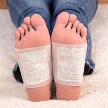 200PCS/lot  Detox Foot Patch Bamboo Pads Patches With Adhersive Foot Care Tool Improve Sleep slimming Foot sticker