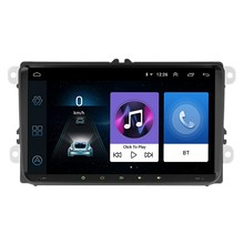 9 pulgadas 2Din Android 8,1 coche MP5 jugador GPS Navi Radio Bluetooth WiFi FM BT Radio(China)