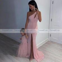 Элегантные официальные платья на одно плечо вечерние русалки