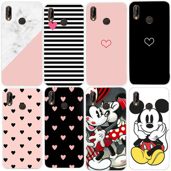 Love Heart Case For Huawei P20 Lite Pro Phone Cover for Huawei P30 lite P 30 Pro Mate 20 lite Honor 8X Back Case Silicone Fundas