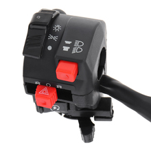 Motorcycle Switch Accessorries  22MM Steering Wheel Start Headlight Far Near Light Flameout for ATV Motorbike
