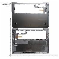 GZEELE חדש מחשב נייד תחתון בסיס Case כיסוי עבור סמסונג 530U3B 530U3C 535U3C NP530U3B NP530U3C NP535U3C כסף אפור אותיות קטנות