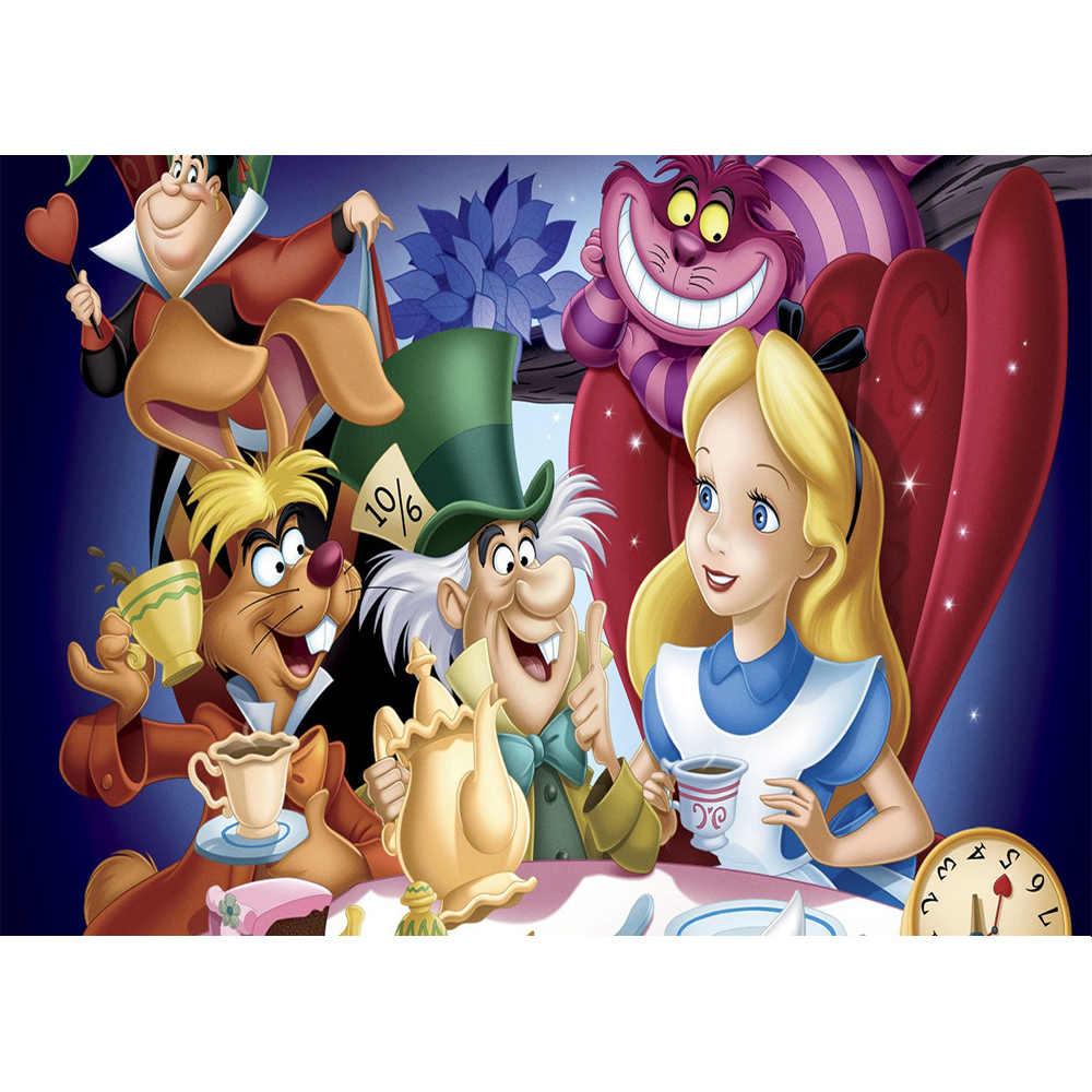 Alicja w krainie czarów fotografia tło księżniczka zdjęcie tła dla Baby Shower Kids baner urodzinowy