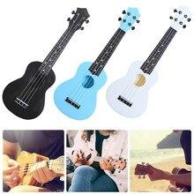 21 Polegada colorido acústico ukulele uke 4 cordas hawaii guitarra musical instrumento para crianças e música iniciante