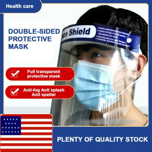Safety Face Shield With Clear Flip-Up Visor Shop Garden Industry Dental Medical Full Face Shield Adjustable Mask