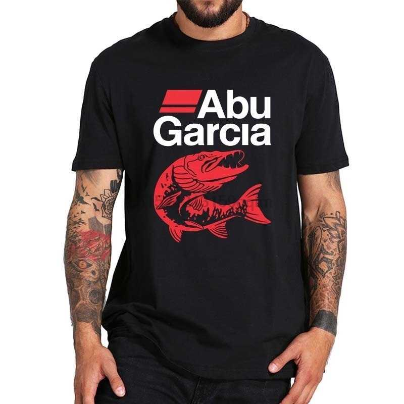 Nieuwe Abu Garcia Fishinger Mannen T-shirt Maat S-5xl Tee Shirt Grappig Printing T Shirts O-hals Tops