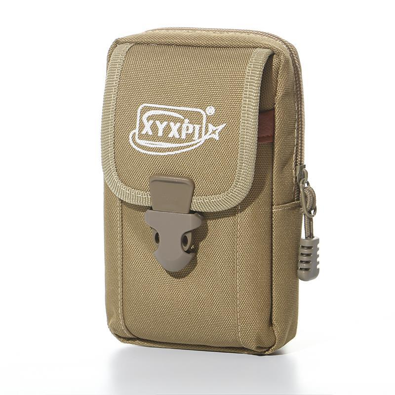 2019 New Style Fashion & Sports Men Mobile Phone Waist Bag Vertical Double Layer Tianjin Cloth Mobile Phone Bag