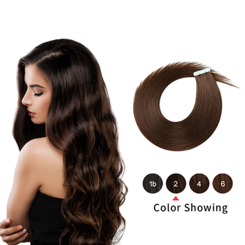 Gazfairy Tape In Human Hair Extensions 10pcs 20pcs 40pcs 12 16 20 24 Straight PU Skin Weft Remy Tape Human Hair Ombre Color 14 color tape in hair extensions human hair machine remy pu skin weft color 14 24 inch straight tape hair extensions human hair
