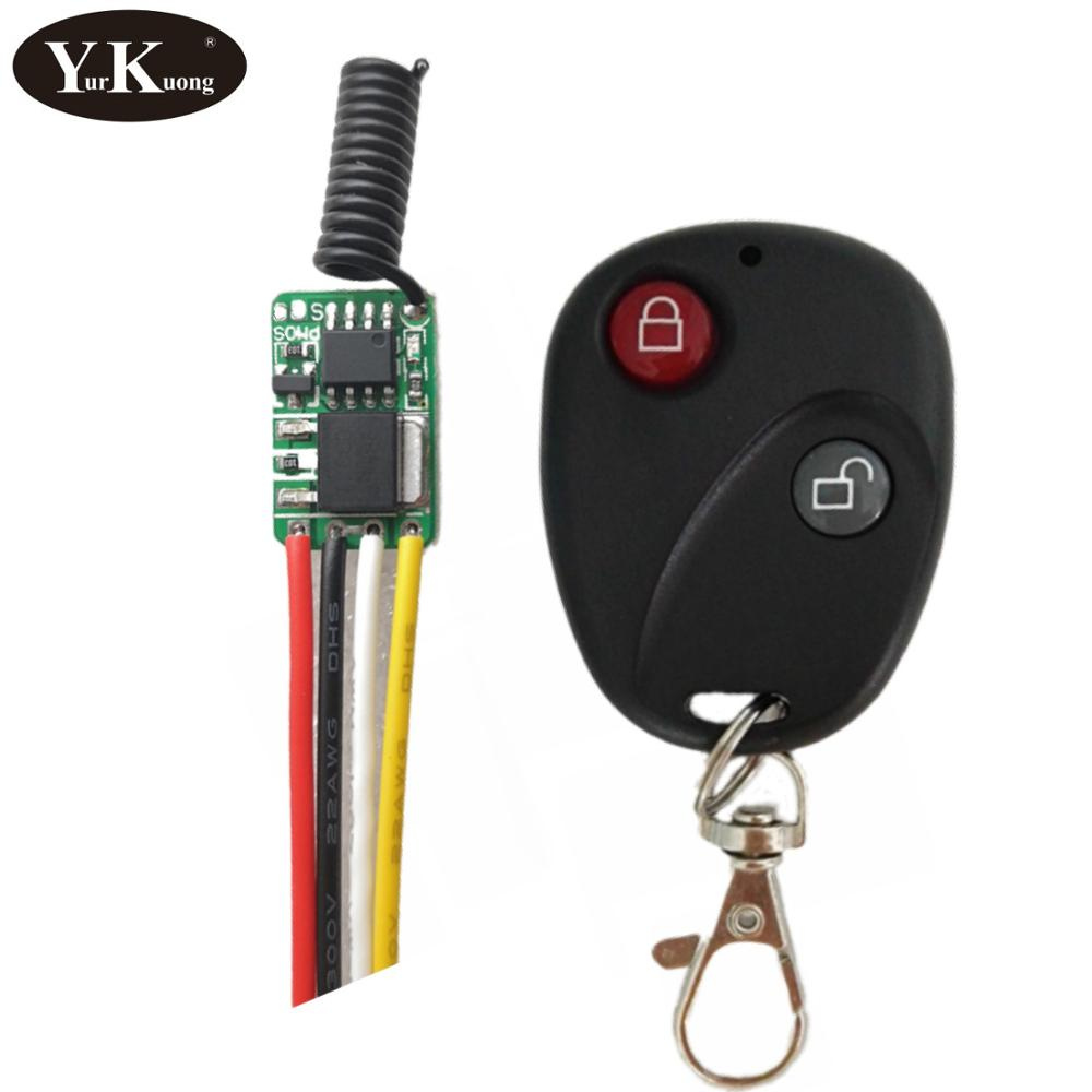 TTL 2A Remote Control Switch Module 3.6V3.7V4.2V5V6V7.4V9V12V Mini Size Power Saving Low Power Consumption RF Wireless Switch