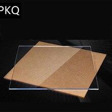 1 x акриловые листы толщина 2 мм прозрачный акриловый лист персекс вырезанная пластиковая прозрачная доска панель из плексигласа большой размер