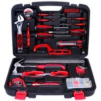 50pcs  multi-function household electrical woodworking maintenance manual hardware tools set