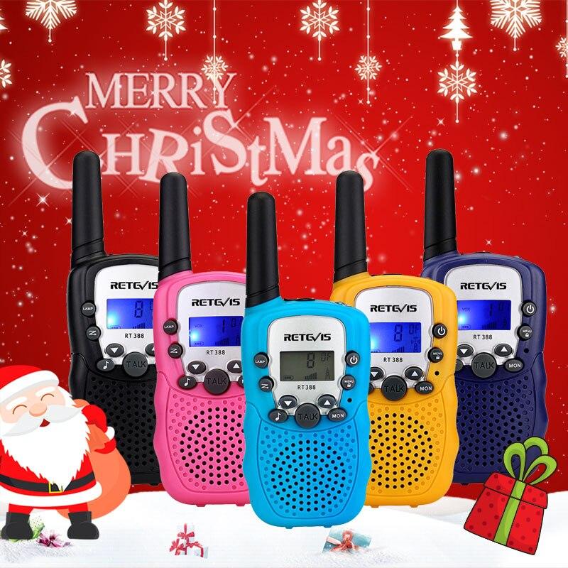 Walkie-Talkie Radio-Distance Birthday Christmas-Gift Retevis Rt388 Kids Children's Comunicador
