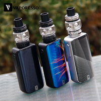 Neue Original Vaporesso Luxe S 220W TC Kit W/8 ml SKRR Tank & Vaporesso Luxe Mod & big Screen Box Vape Kit vs Vaporesso Gen/Swag