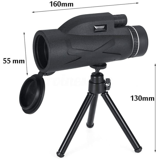 Professional Telescope  80x100 HD Night Vision Monocular Zoom Optical Spyglass Monocle for Sniper Hunting Rifle Spotting Scope 3