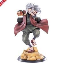 Anime figrue jiraiya gama sennin pvc figura de ação estátua brinquedo collectible desktop decoração figma boneca 20cm