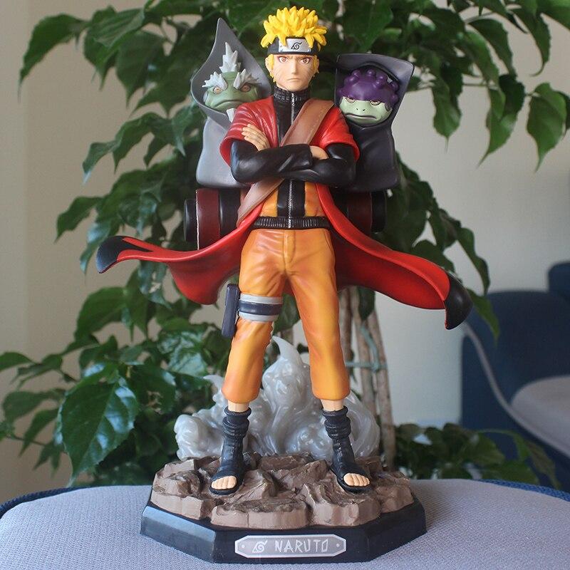 ¡Japonés Anime 1/8 Naruto Sennin Modo ver! Juguetes nueva figura de acción modelo coleccionable de PVC