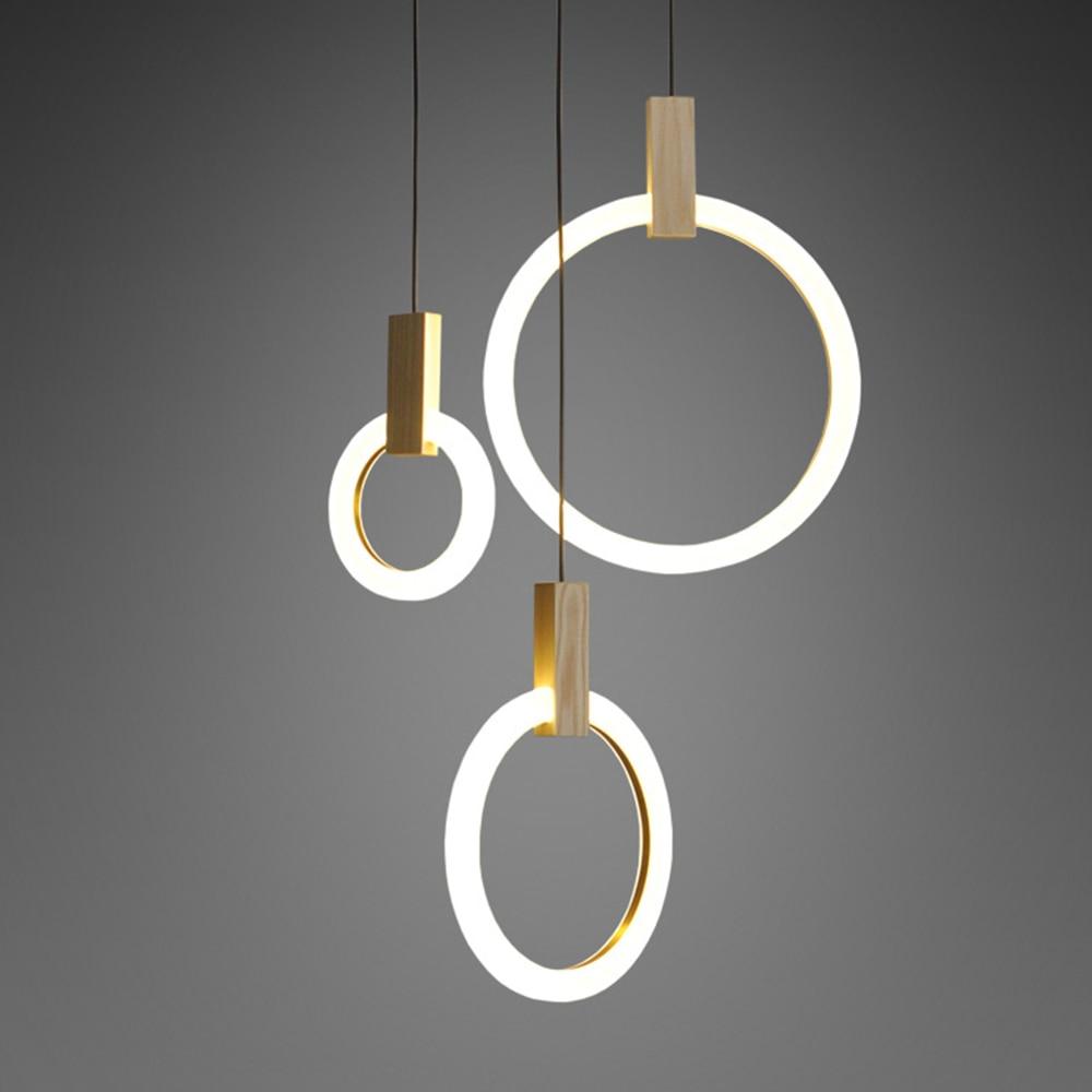 Loft Global Art Deco Pendant Light hanging lamp Tube Modern Decor for Living Room Hotel Meeting Gallery wood Lamp Fixture