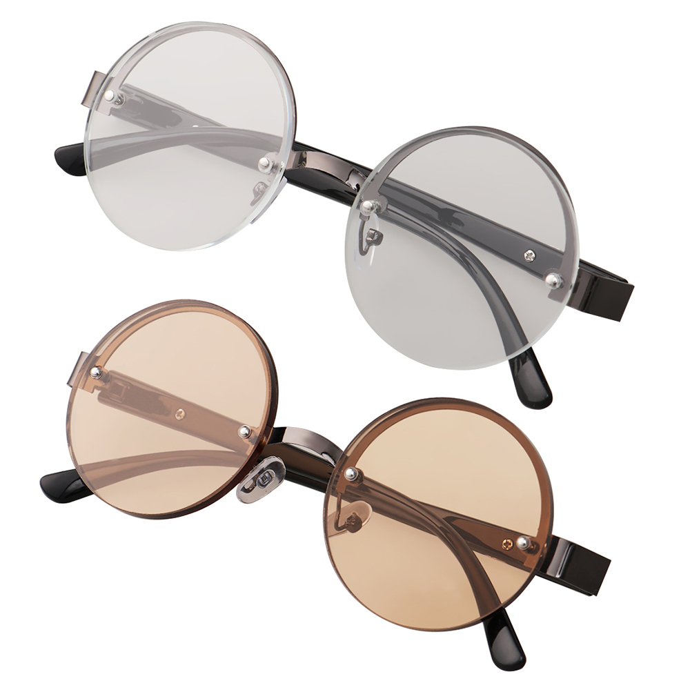 Reading Glasses Diopter +1.0/+1.5/+2.0/+2.5/+3.0/+3.5/+4.0 Round Metal Frame Glasses Presbyopia Eyeglasses Glasses Eyewear