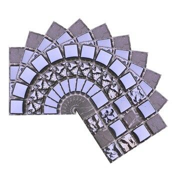 10*10cm Mosaic Self Adhesive Tile Wall Stickers Vinyl Bathroom Kitchen Home Decoration DIY PVC Stickers Decals Wallpaper 10pcs 15