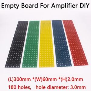 Image 1 - DIY Audio Board Tag Board Turret Board Test Board Empty Plate 300*60*2mm 180 Holes 1PC Tube Amplifier Parts  DIY