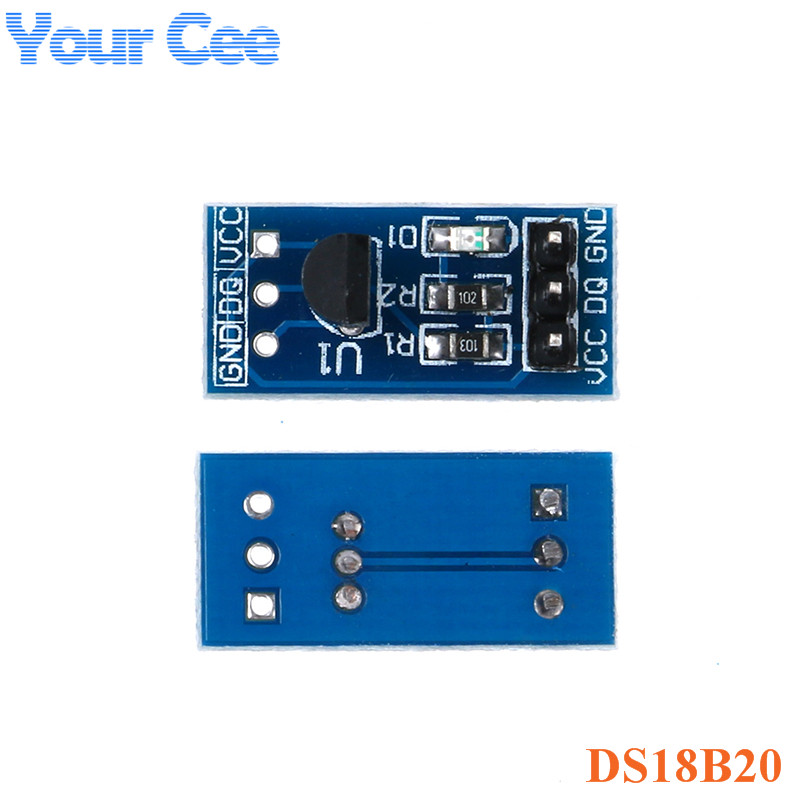 <font><b>DS18B20</b></font> Digital Temperature Sensor Temperature Measurement <font><b>Module</b></font> Temperature Control Switch Development Board For Arduino image