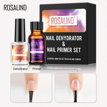 Dehydrator-Set Nail-Primer Manicure ROSALIND 15ML of for Led-Lamp No-Need UV And