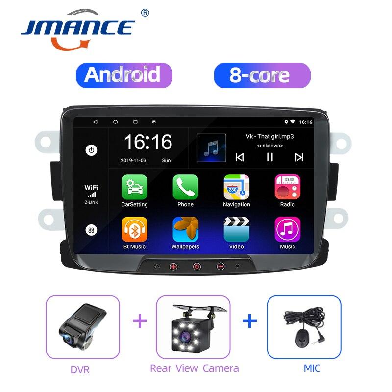 JMANCE Car Multimedia Player Android Radio Gps Navigation Video Music System For Renault Dacia/Duster/Sandero/Logan 2010-2015
