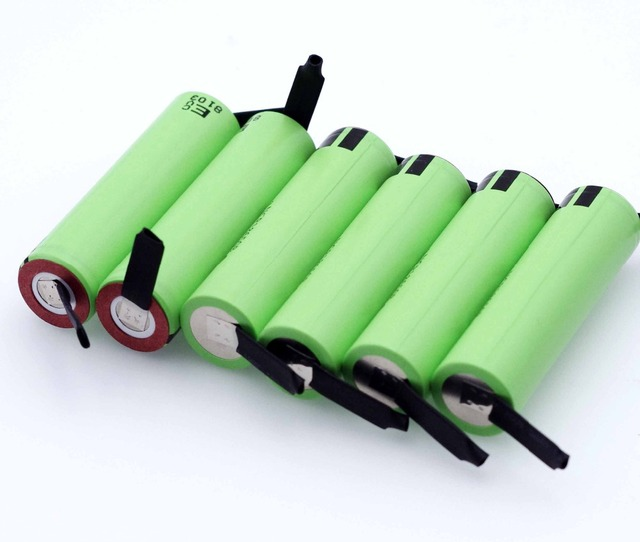 2021 New Original NCR18650B 3.7 v 3400mah 18650 Lithium Rechargeable Battery Welding Nickel Sheet batteries 6