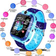 цена на Q12 Smart Phone Watch For Children Student Baby 1.44 Inch Waterproof Kids Smart Watch SOS Call Voice Chat Location Positioning