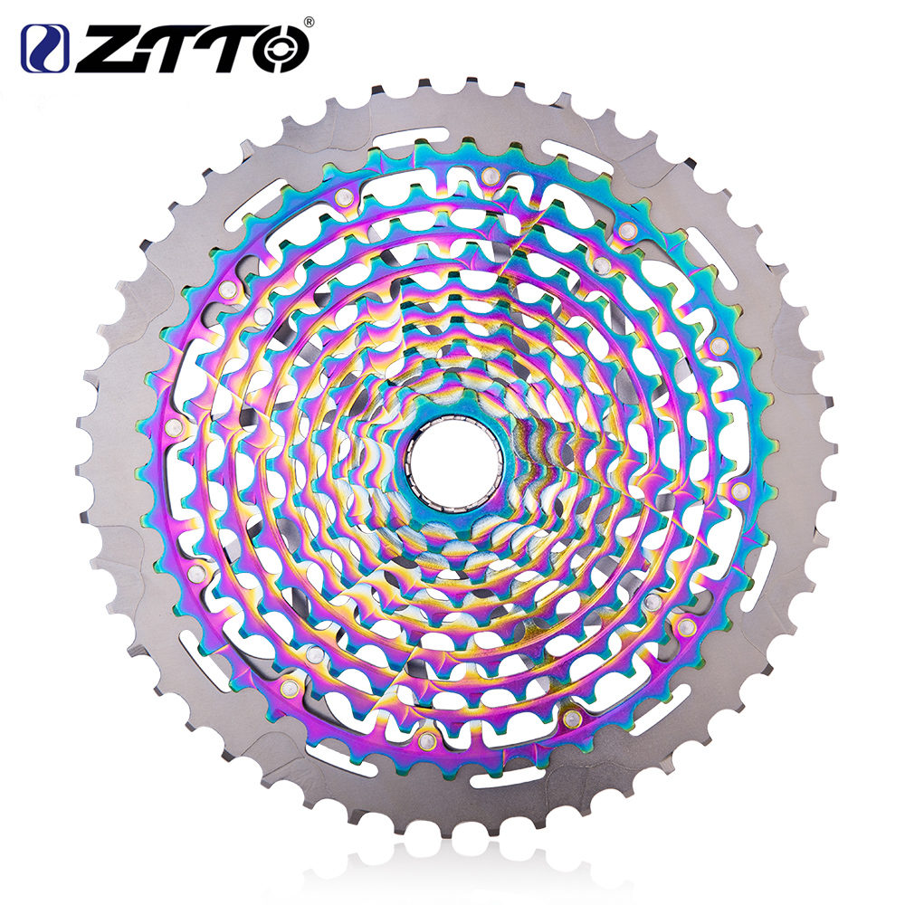Image 3 - ZTTO MTB 12 Speed 9 50T Cassette Ultimate XD Cassette Rainbow 375g ZTTO ULT Cassette Ultralight 12s Cassette 1299 k7 Colorful-in Bicycle Freewheel from Sports & Entertainment