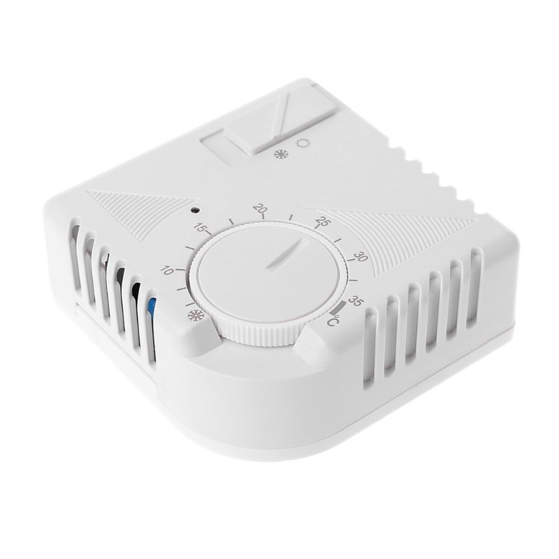Universal Room Thermostat Energy Save Mechanical Temperature Controller W Switch